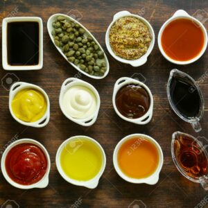 Sauce & Oils